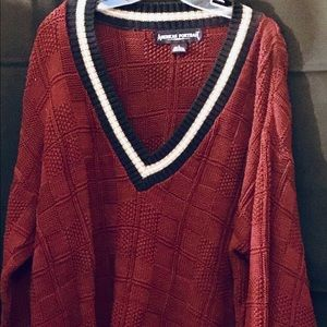 Mens vintage American Portrait sweater in  large